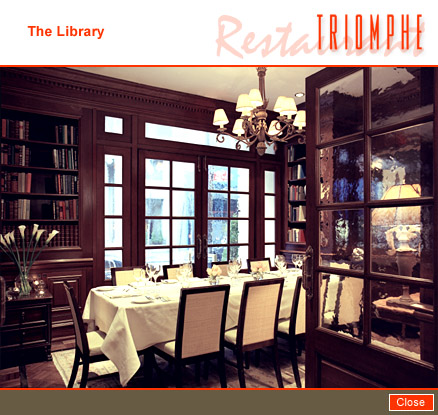Photo #5 The Library at The Iroquois Hotel