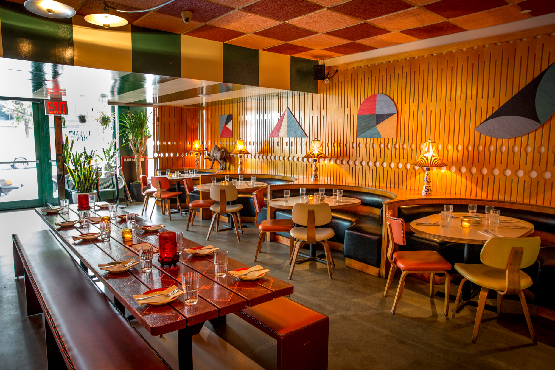 Ground Floor Restaurant  event space at Tijuana Picnic in New York City, NYC, NY/NJ Area