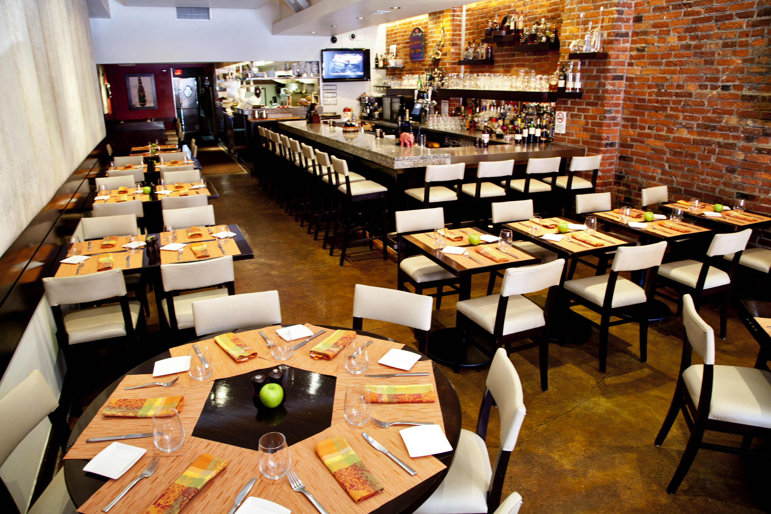 Full Venue event space at Belga Cafe in Washington DC, Maryland, Virginia, DC Area