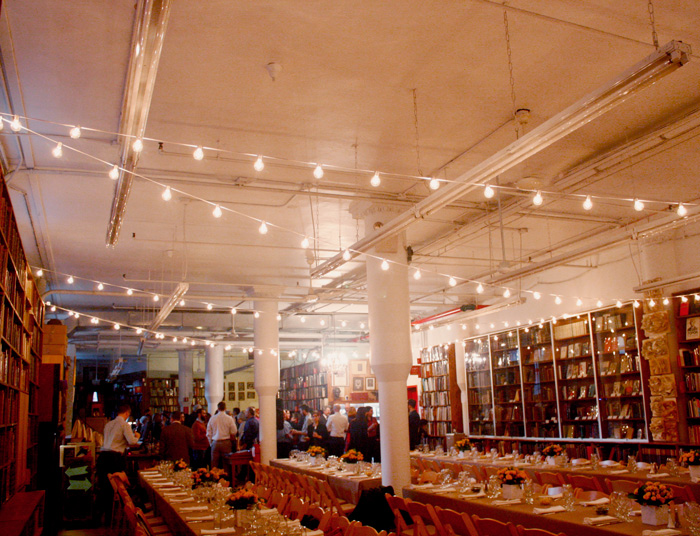 Full Venue event space at Strand Books Rare Back Room in Manhattan