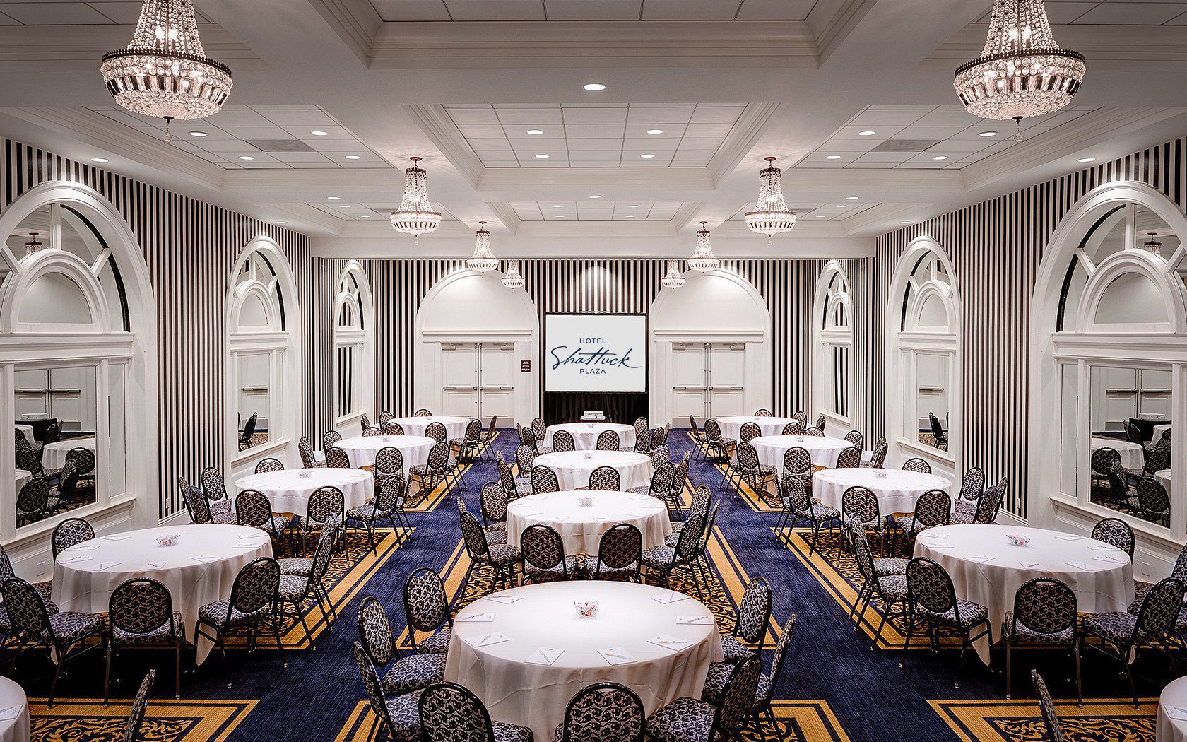 Crystal Ballroom event space at The Hotel Shattuck Plaza in Bay Area
