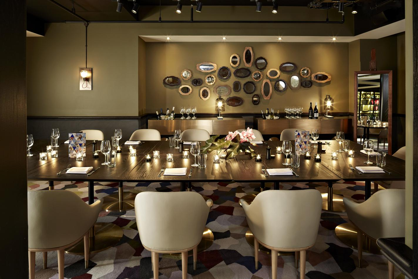 Private Dining Room event space at VB Steakhouse in New York City, NYC, NY/NJ Area