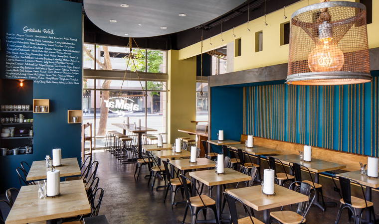 Main Dining Room event space at alaMar Kitchen & Bar in San Francisco, SF Bay Area, San Fran