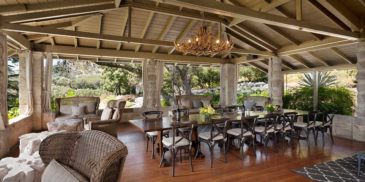 Manor House event space at Stags' Leap Winery in San Francisco, SF Bay Area, San Fran