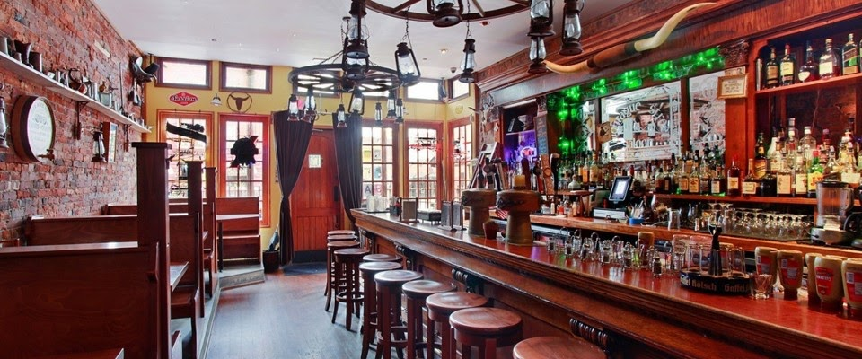 Main Bar/Dining Room event space at Branded Saloon in New York City, NYC, NY/NJ Area