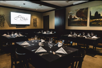 The Sycamore Room event space at Forbes Mill Steakhouse in New York City, NYC, NY/NJ Area