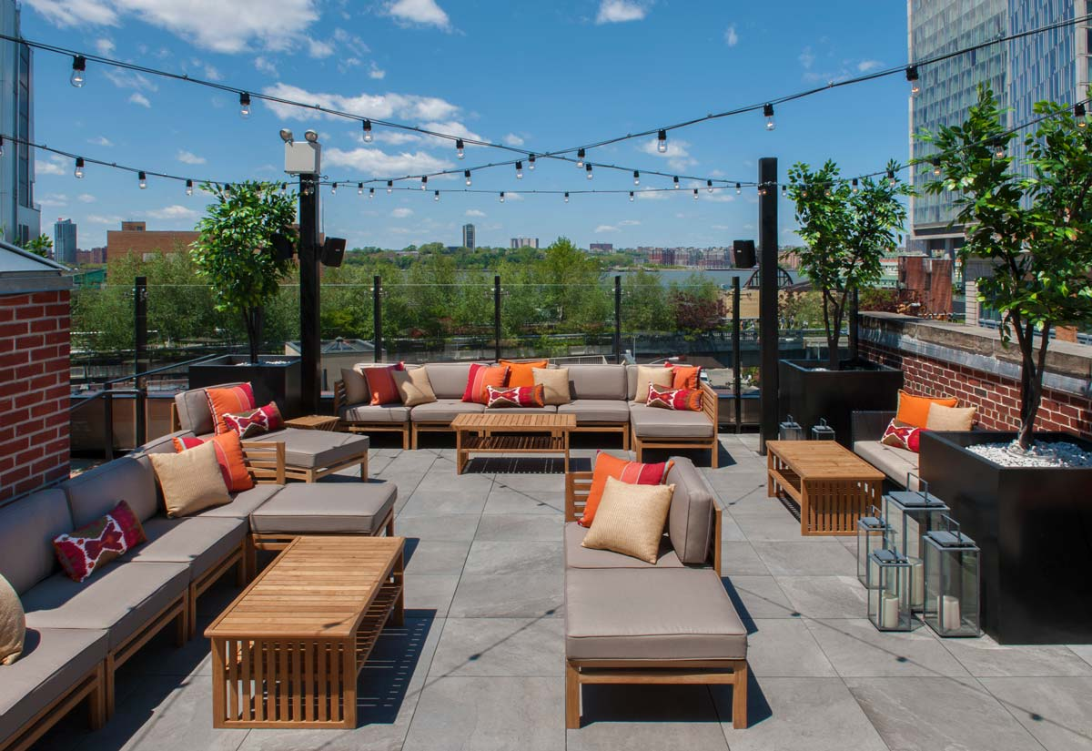Sunny Day Dining  event space at STK Rooftop in New York City, NYC, NY/NJ Area
