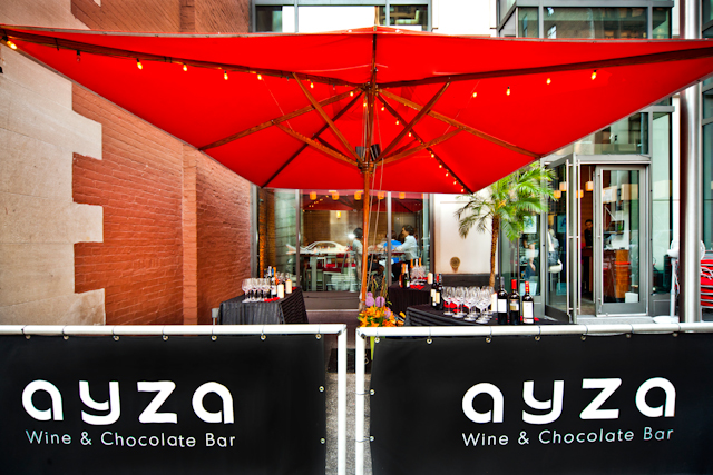 Photo #11 Semi Private Patio at AYZA Wine & Chocolate Bar (Midtown)