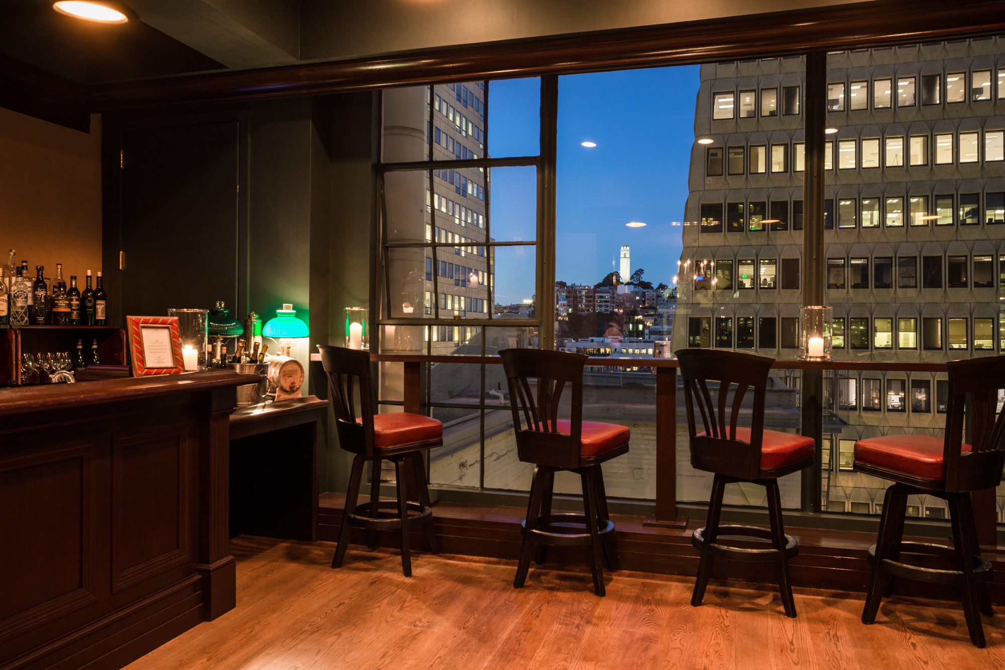 THE LANDMARK event space at Wingtip in San Francisco, SF Bay Area, San Fran