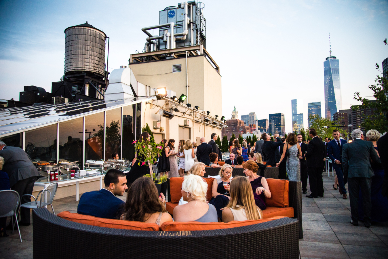 Tribeca Rooftop event space at Tribeca Rooftop in New York City, NYC, NY/NJ Area