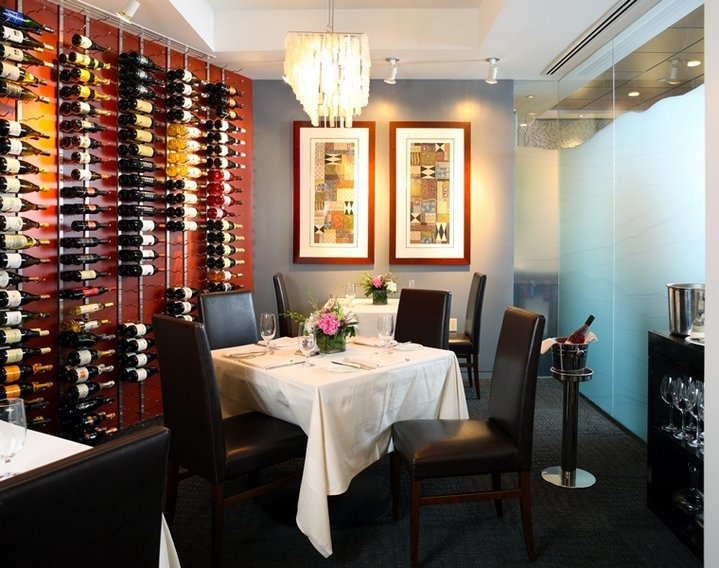 Private Wine Room event space at Equinox Restaurant in Washington DC, Maryland, Virginia, DC Area