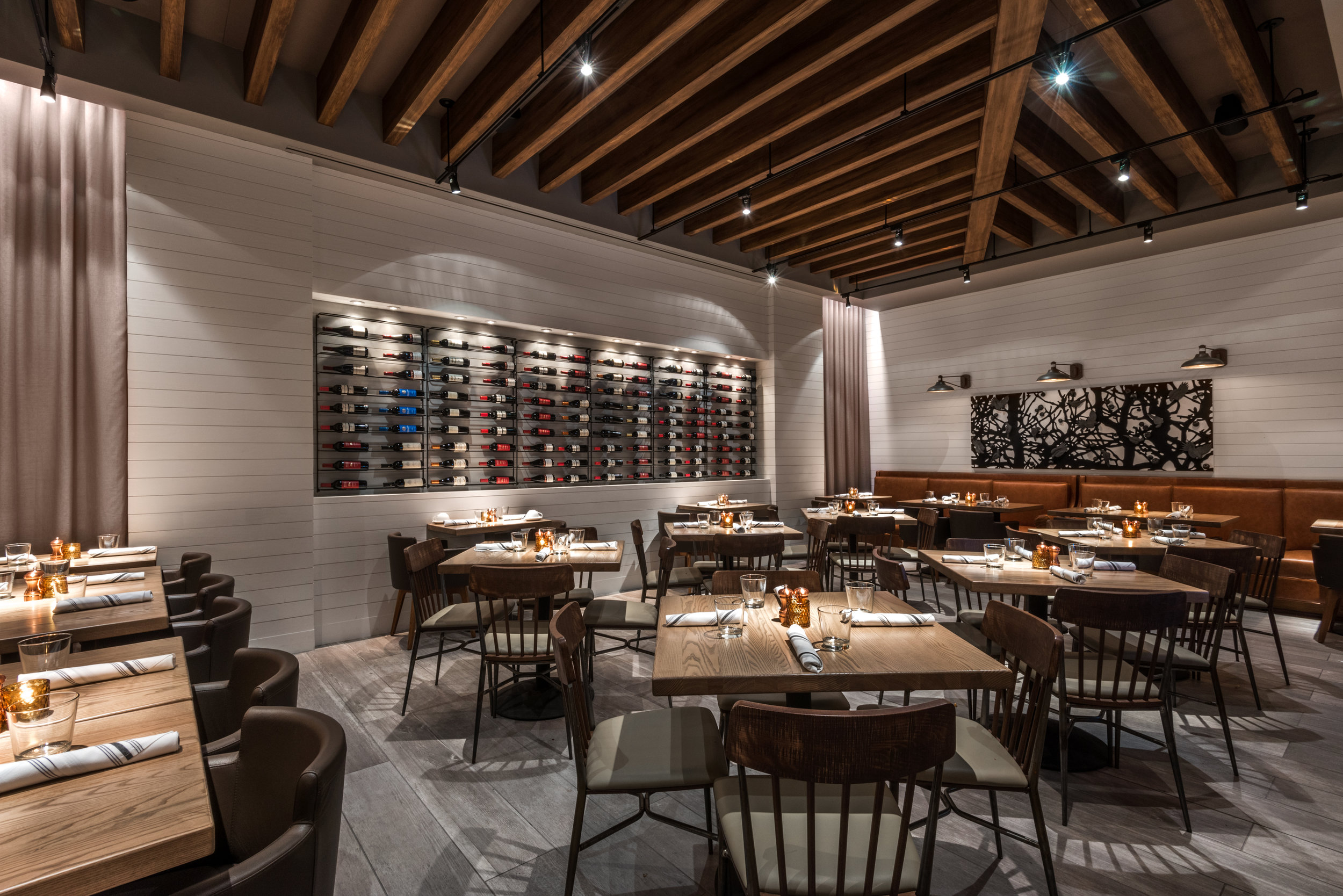 Semi-Private Wine Room event space at Corinne Restaurant in denver