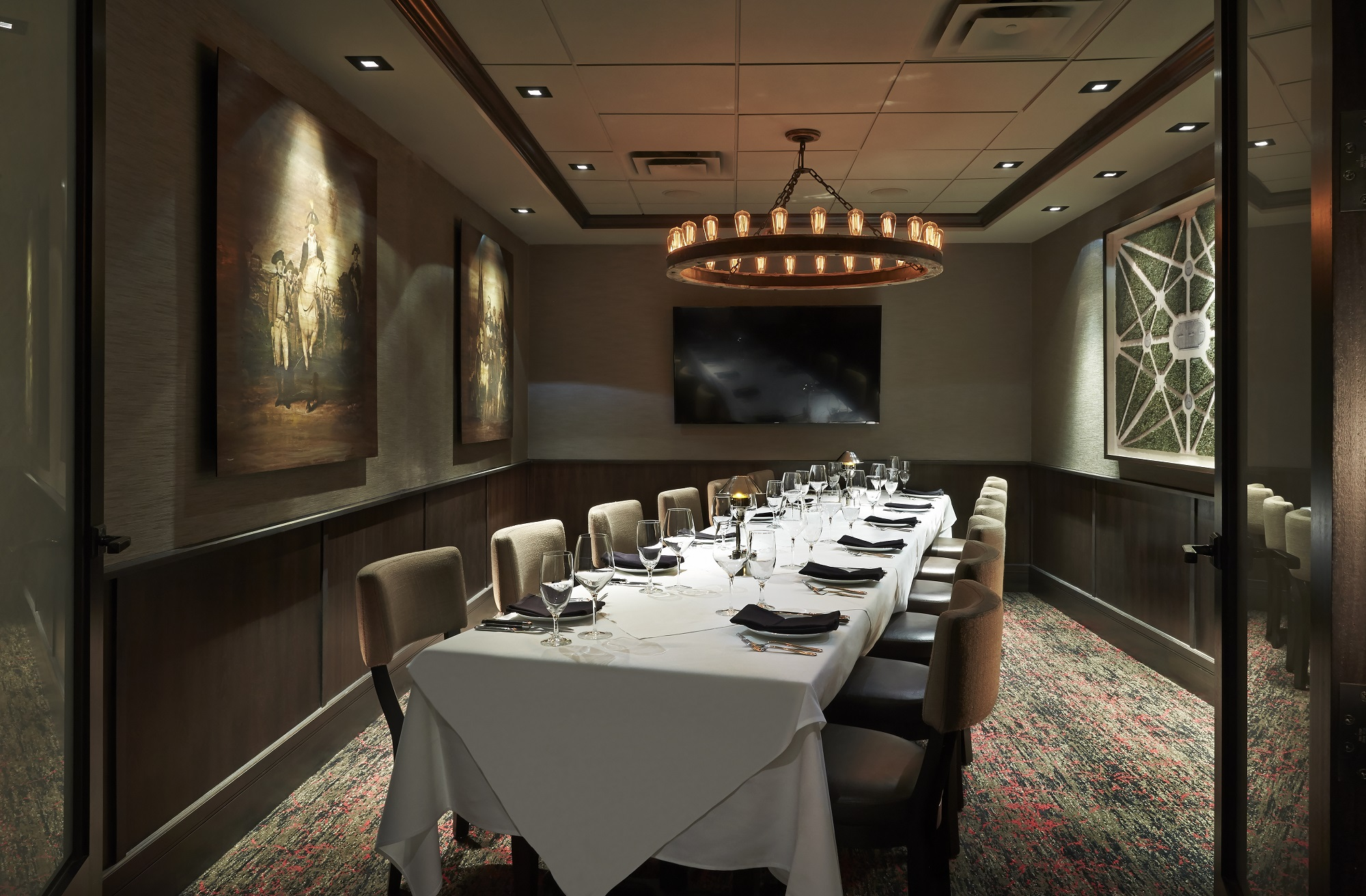 Mastro's Steakhouse D.C. event space in Washington DC, Maryland, Virginia, DC Area
