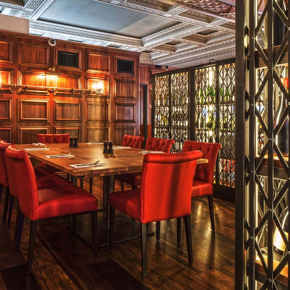 Photo #7 Private Dining Room  at Burger & Lobster Bryant Park