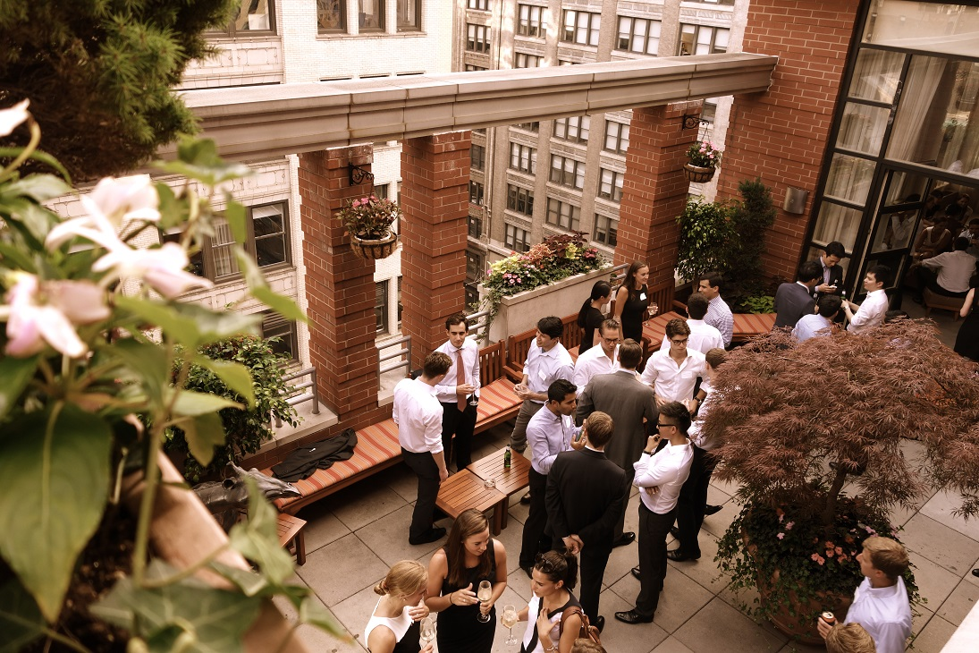 Rooftop  event space at Bread & Tulips in New York City, NYC, NY/NJ Area