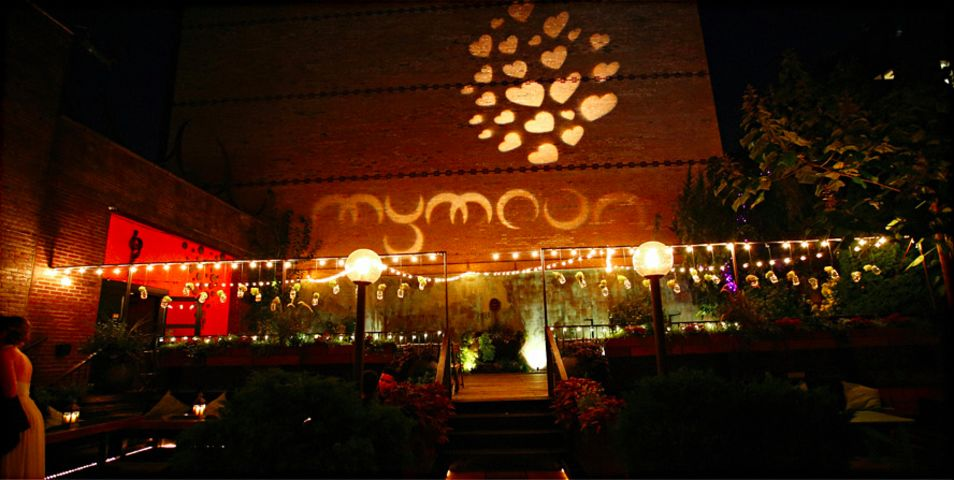 Garden event space at MyMoon  in New York City, NYC, NY/NJ Area
