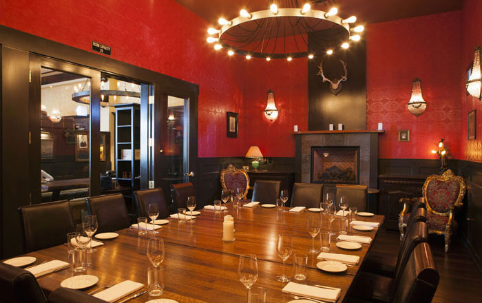 The Private Dining Room event space at Corners Tavern in New York City, NYC, NY/NJ Area