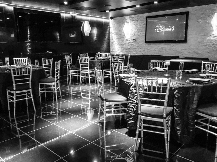 Claudia's Steakhouse event space in Washington DC, Maryland, Virginia, DC Area