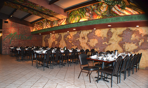 Photo #3 Full Venue at Mattone Restaurant and Bar