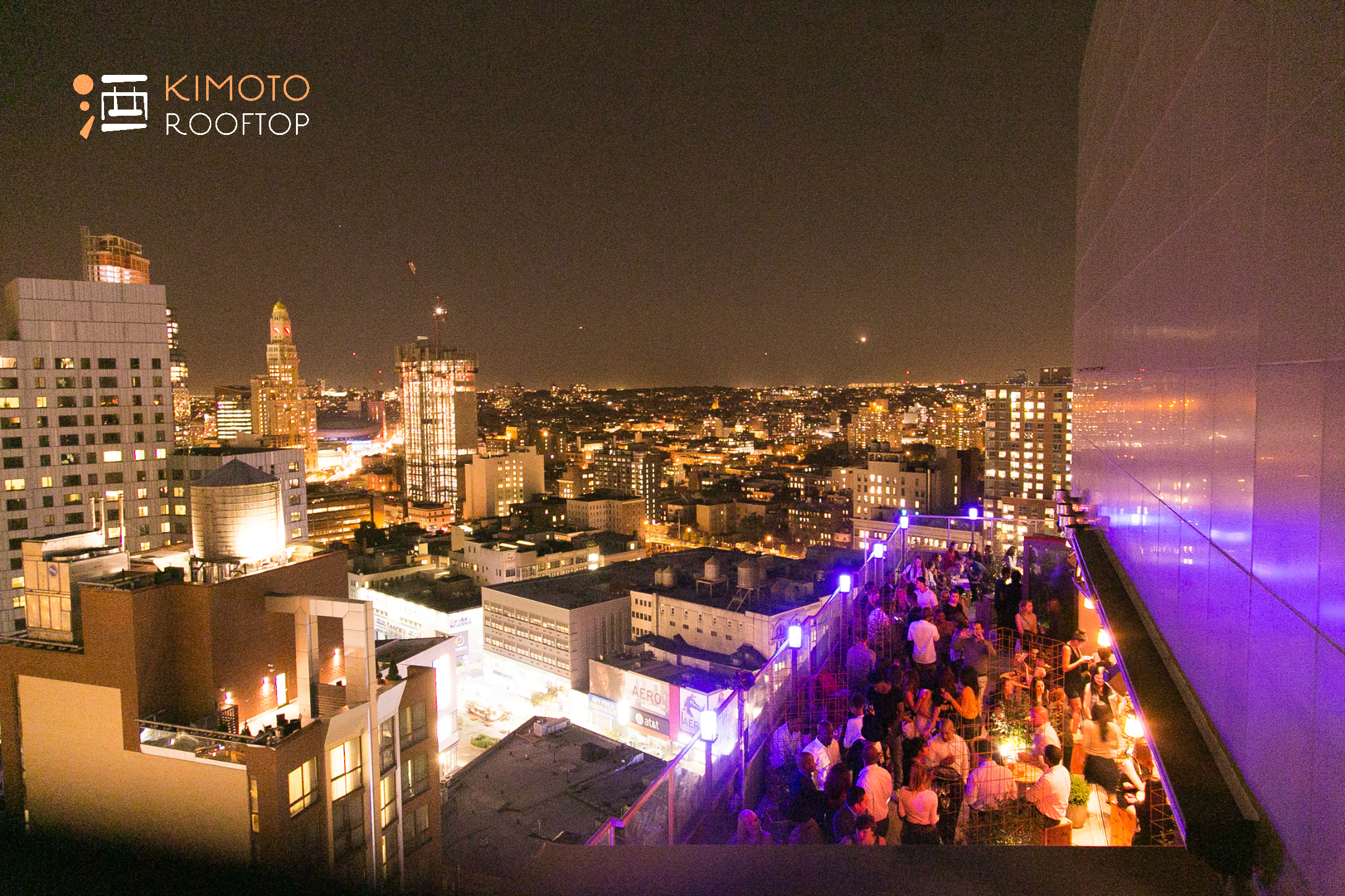 Kimoto Full Buyout event space at Kimoto Rooftop in New York City, NYC, NY/NJ Area