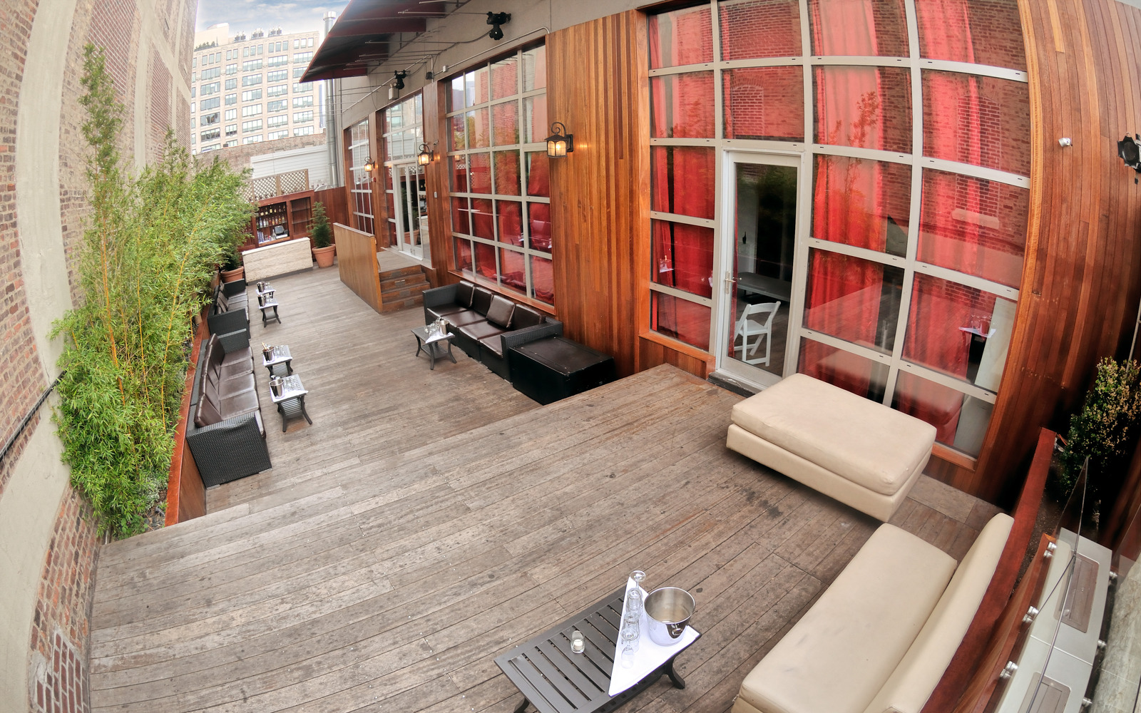 Photo #11 The Garden Terrace (Outdoor Space with Sound & Bar) at Hudson Terrace