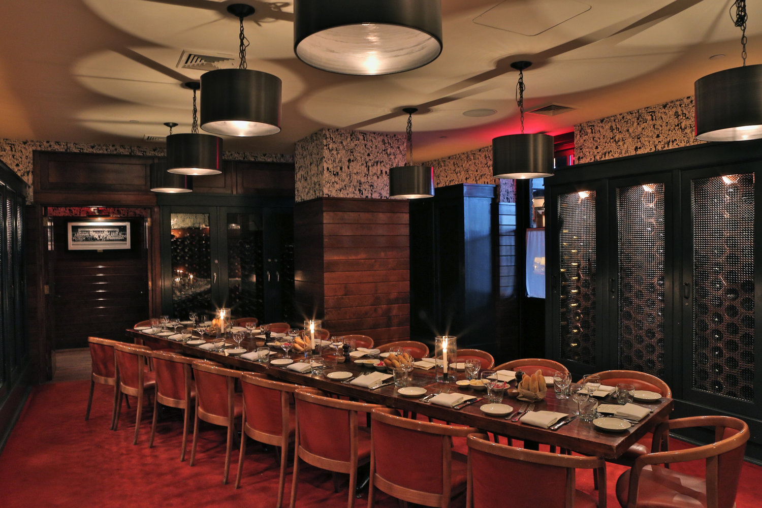 The Wine Room event space at The Standard Grill in New York City, NYC, NY/NJ Area
