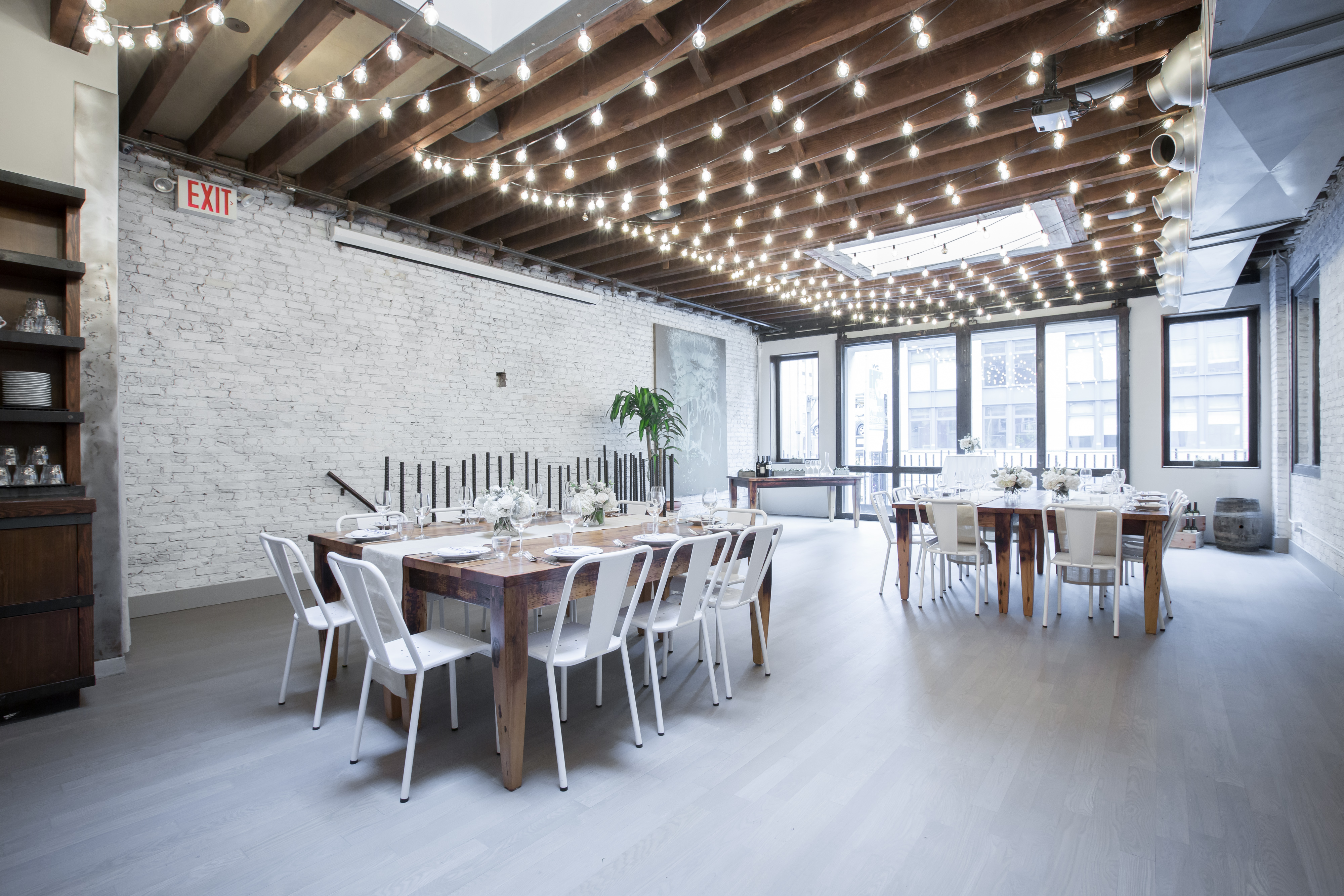 Photo #17 Upstairs Dining Room  at landmarc [tribeca]