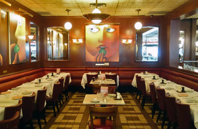 Semi-Private Dining Room event space at Cafe Fiorello in New York City, NYC, NY/NJ Area