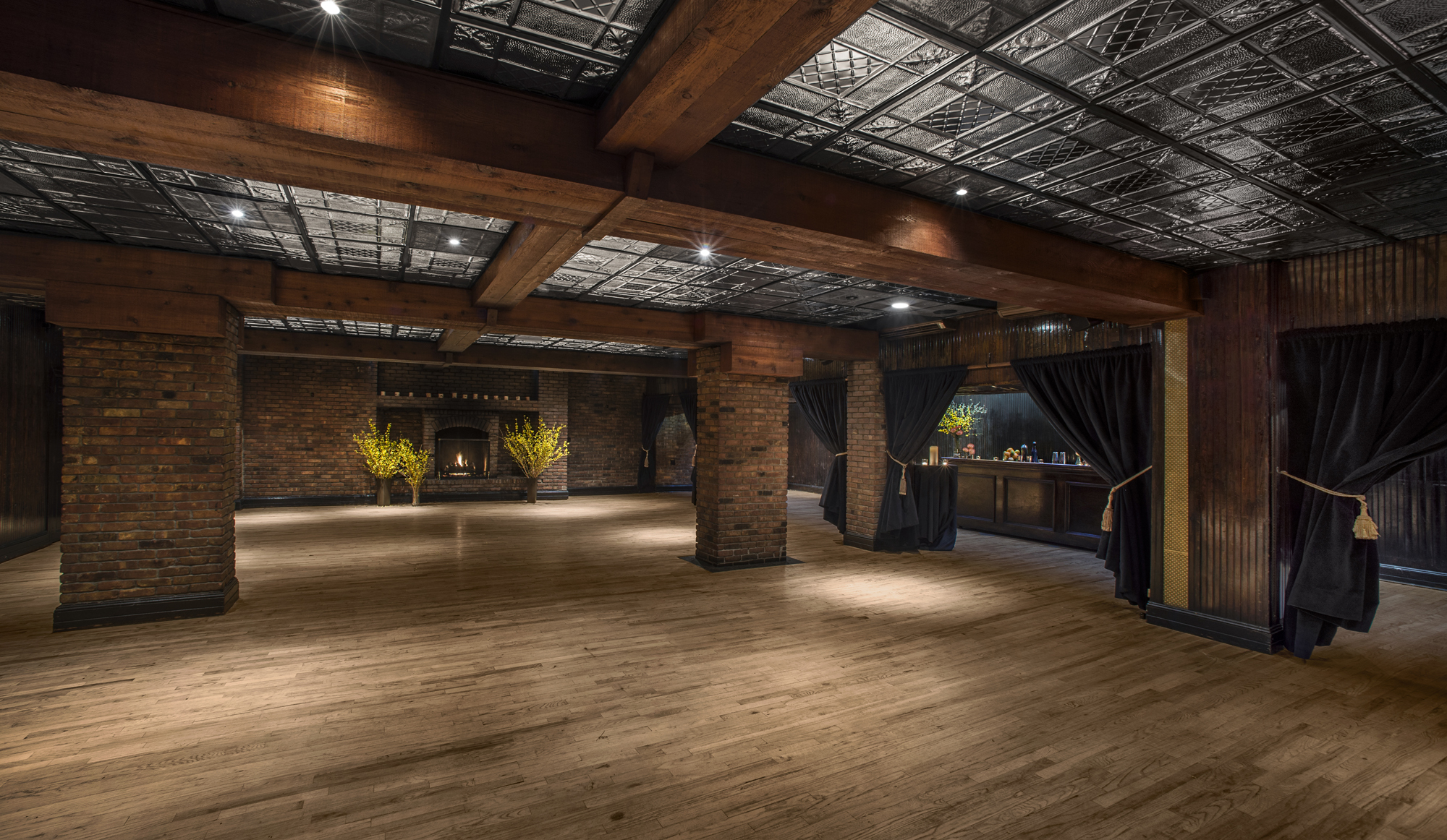 The Ballroom event space at The Fillmore Room in New York City, NYC, NY/NJ Area