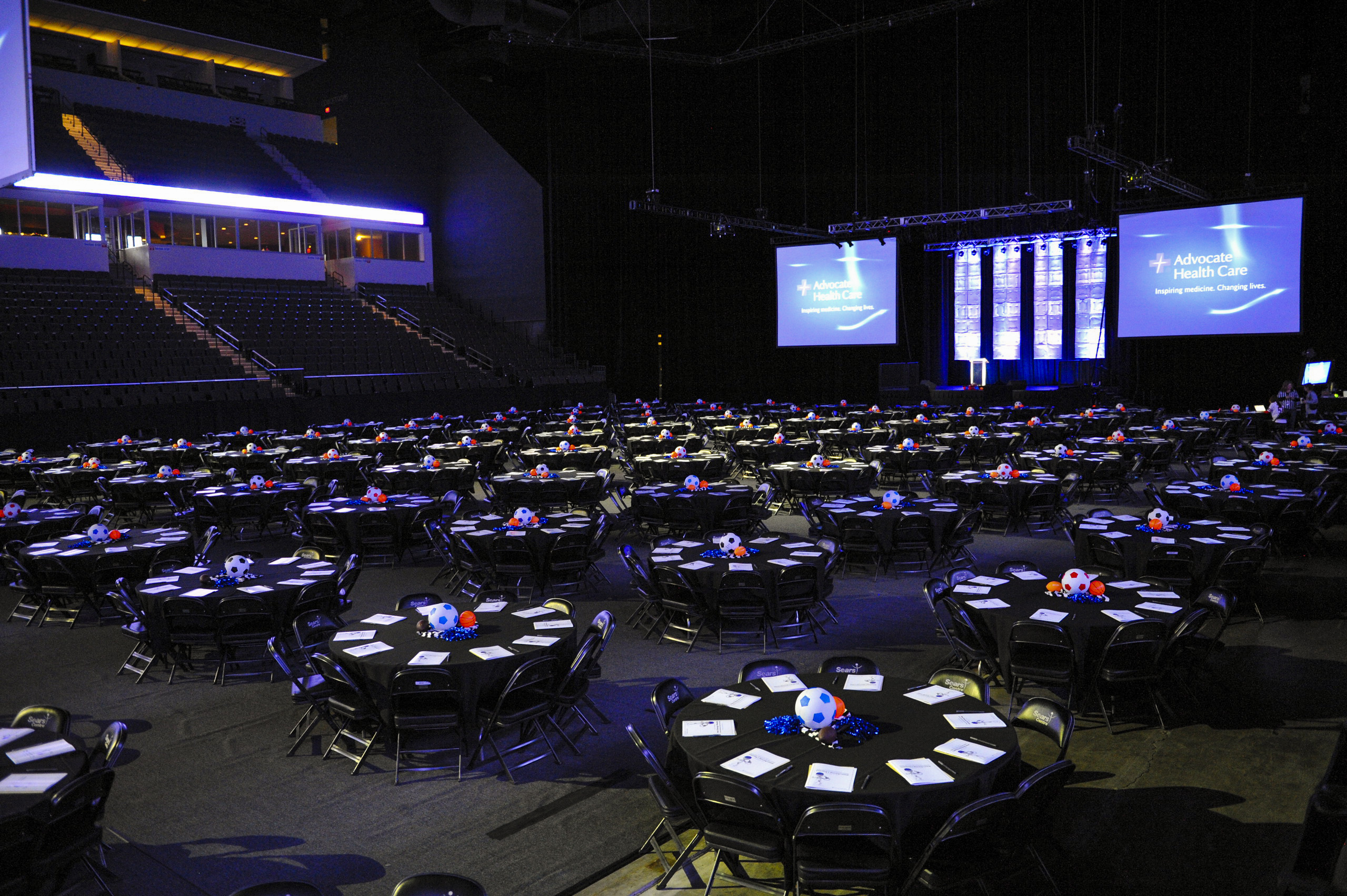 Sears Centre Arena event space in Chicago, Chicagoland Area