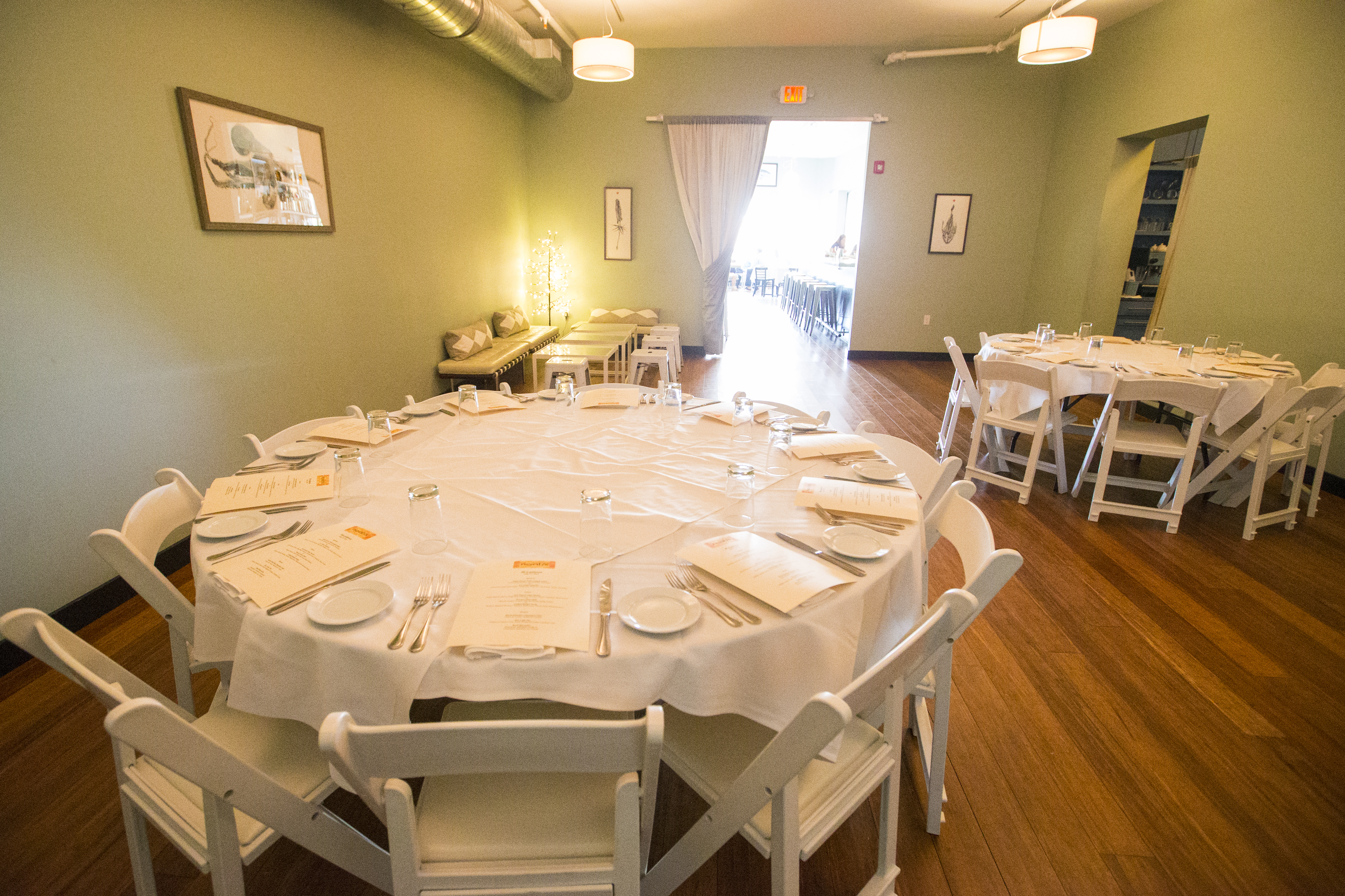 Private Dining Room event space at noah's in Greater New York