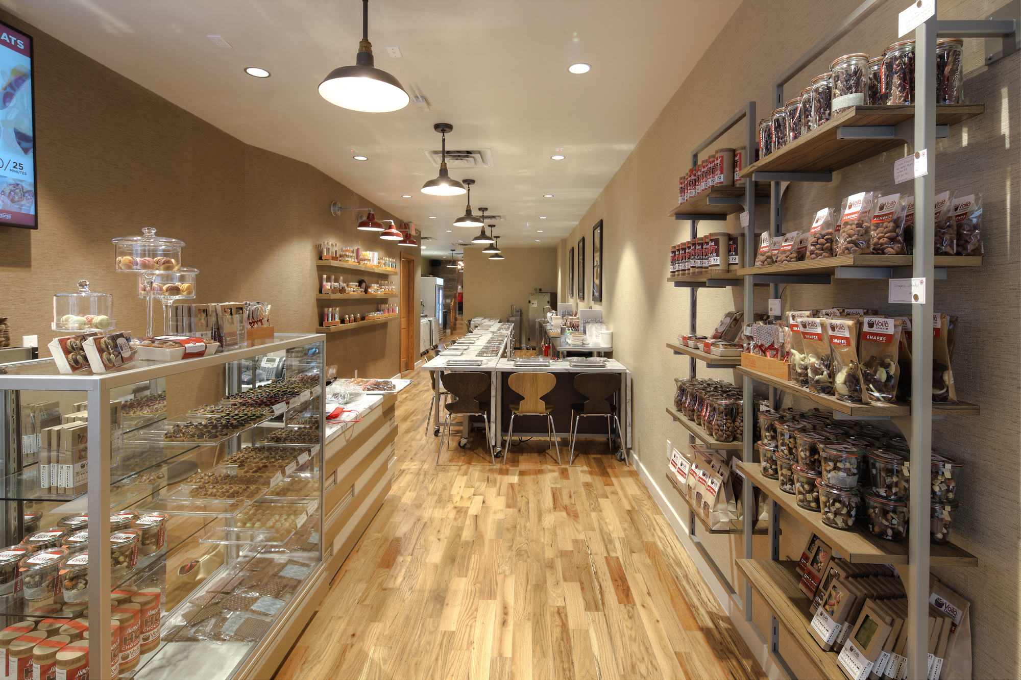 Voila Chocolat Atelier event space at Voila Chocolat in New York City, NYC, NY/NJ Area