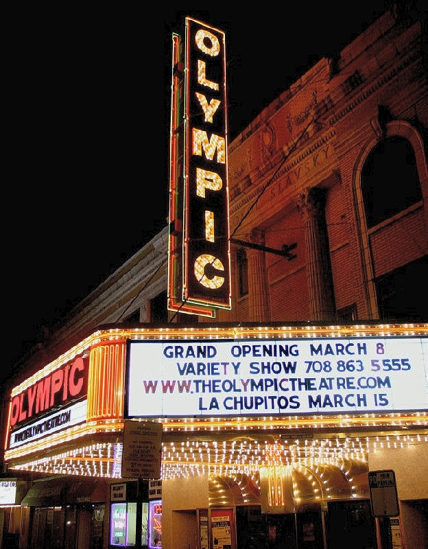 Olympic Theatre event space in Chicago, Chicagoland Area