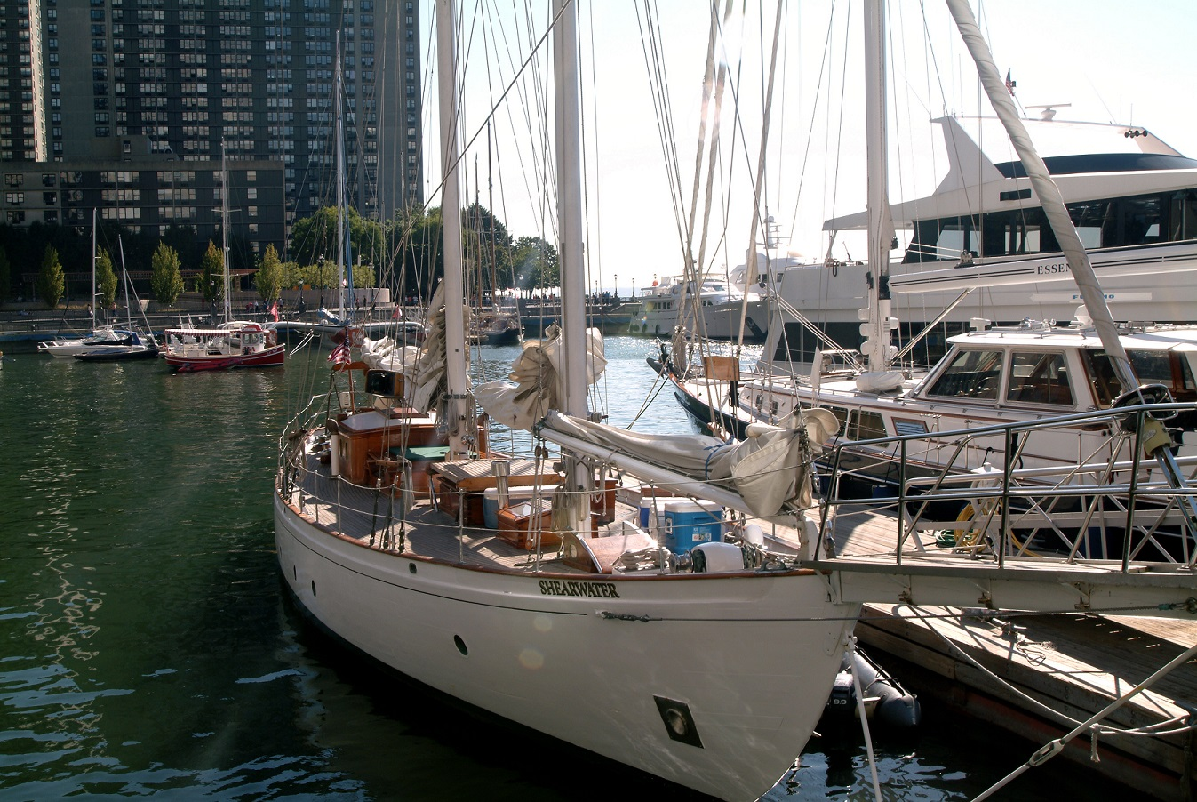 Photo #10 Shearwater Classic Schooner  at Shearwater Classic Schooner (Manhattan By Sail)