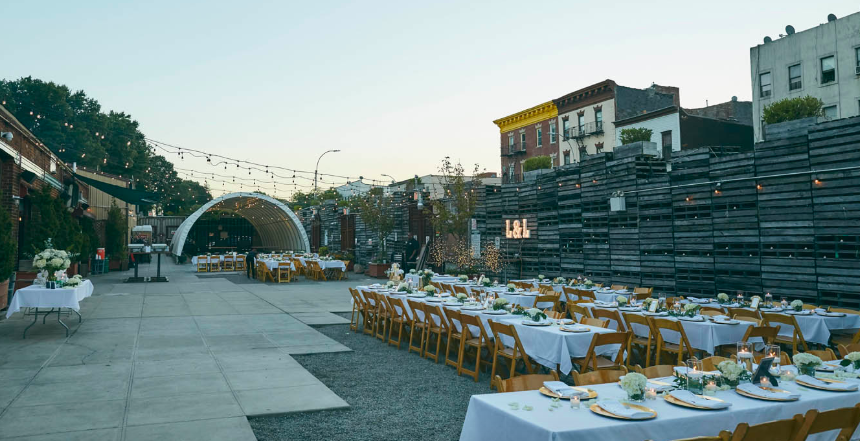 Outdoor Area event space at Greenwood Park in New York City, NYC, NY/NJ Area