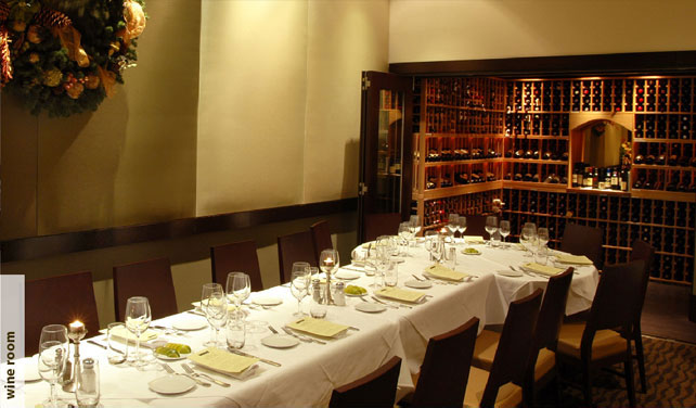Photo #5 Wine Room at Piacere Restaurant