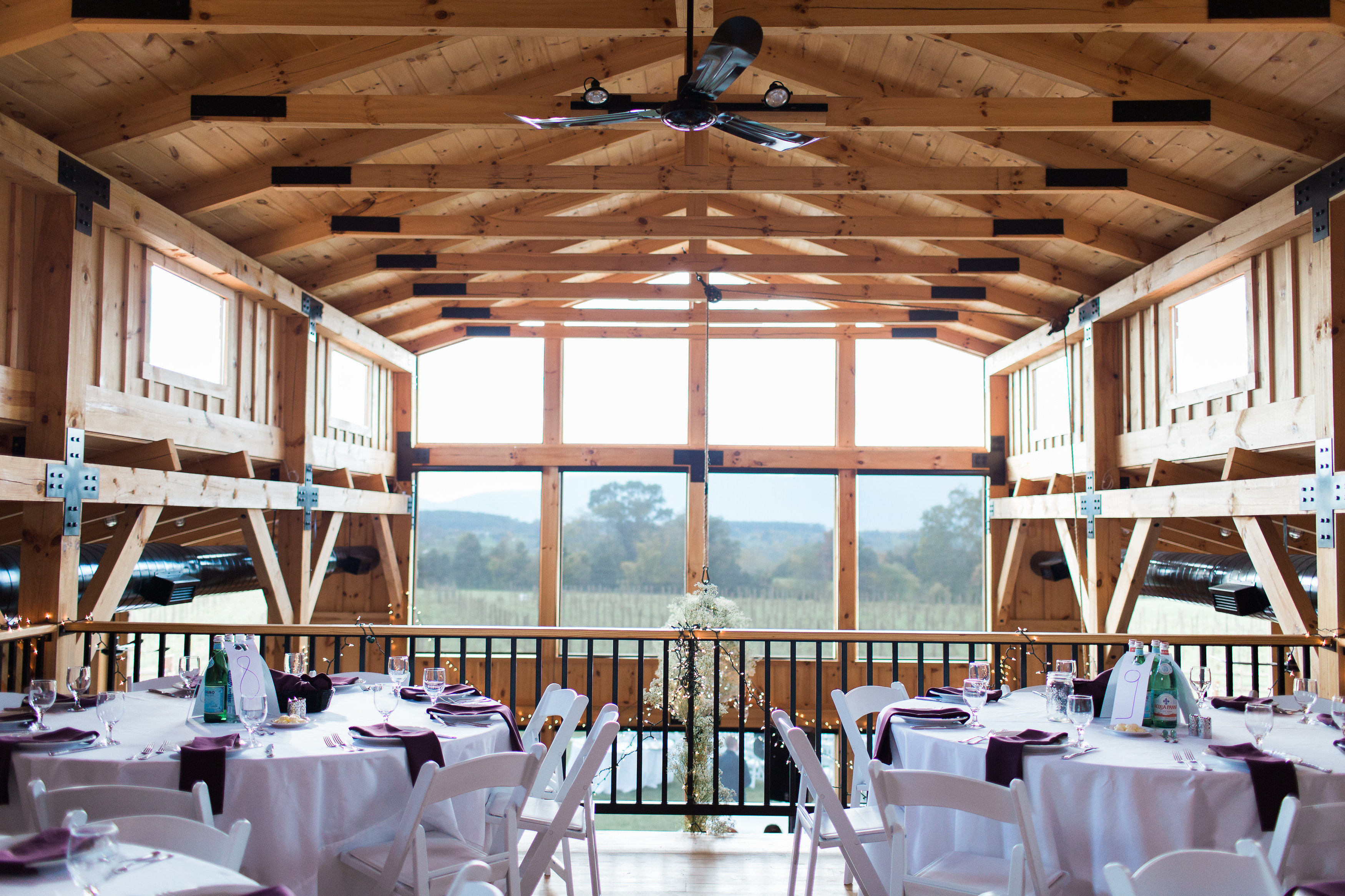 Main Space event space at Faithbrooke Barn and Vineyards in Washington DC, Maryland, Virginia, DC Area