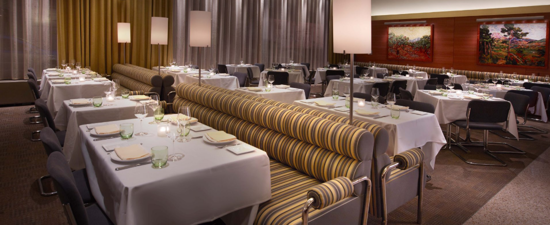 Main Dining Room  event space at Boulud Sud in New York City, NYC, NY/NJ Area