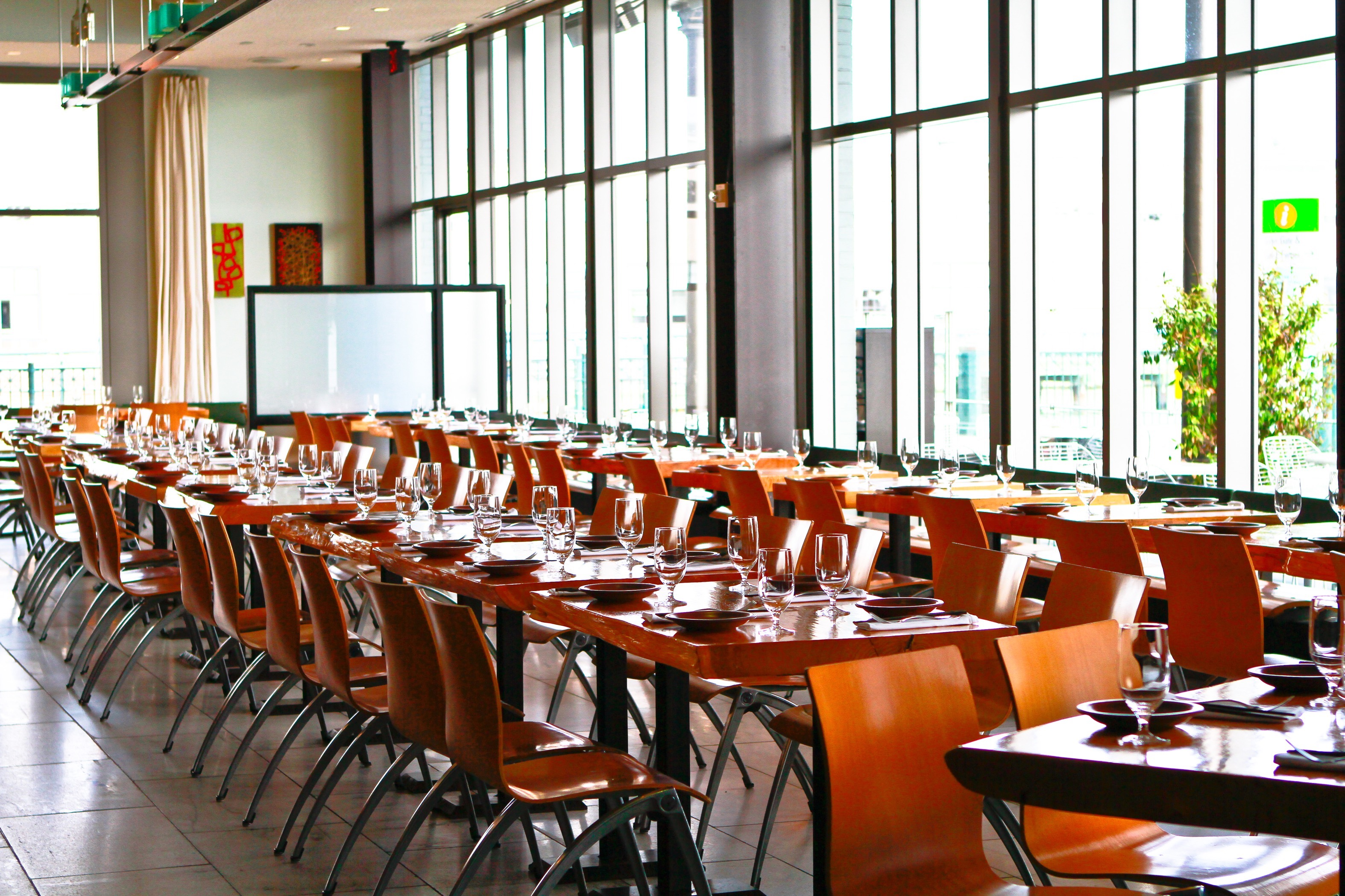 The Slanted Door event space in San Francisco, SF Bay Area, San Fran