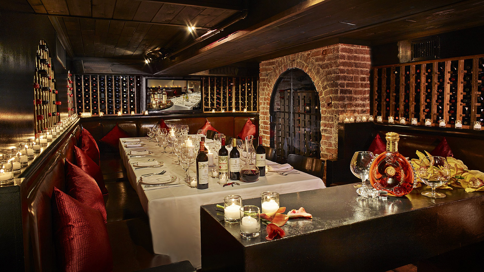 Photo #5 Downstairs: (Marquis Wine Cellar 80+)  at Philippe