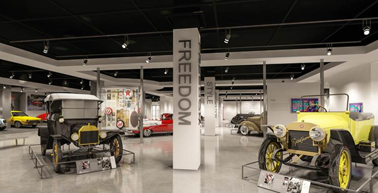 Photo #9 3RD FLOOR HISTORY at Petersen Automotive Museum