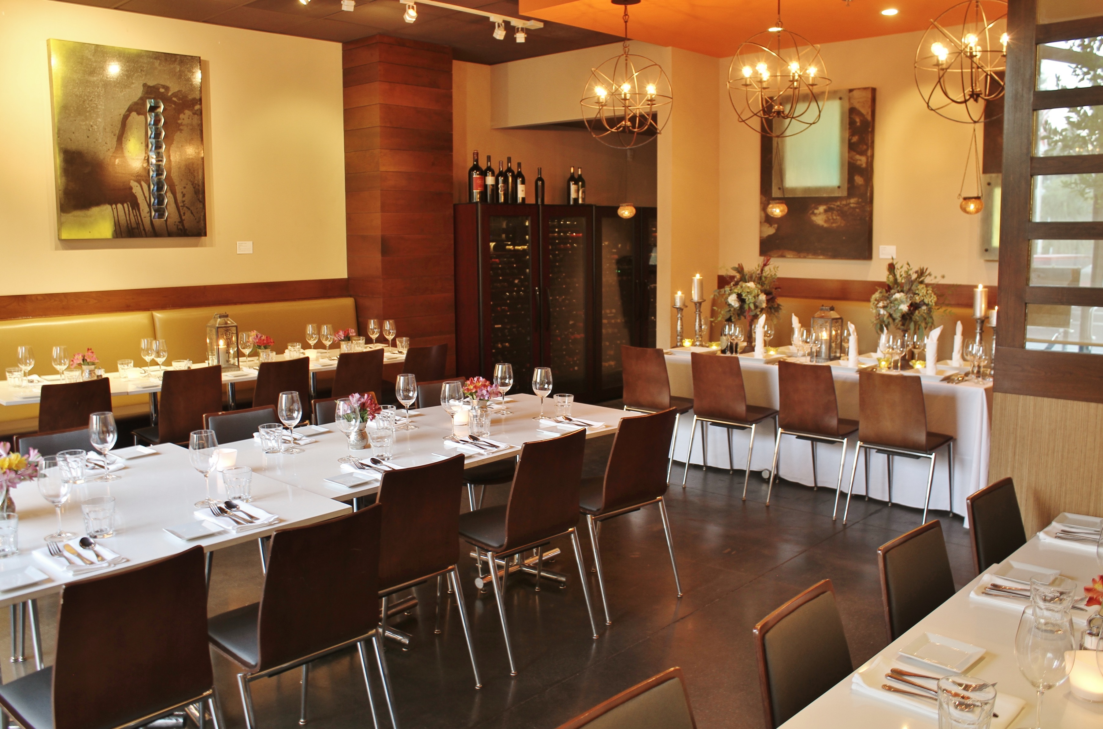 Private Dining Room event space at Tarla Mediterranean Grill in New York City, NYC, NY/NJ Area
