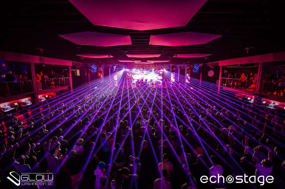 Main Space event space at Echostage in Washington DC, Maryland, Virginia, DC Area