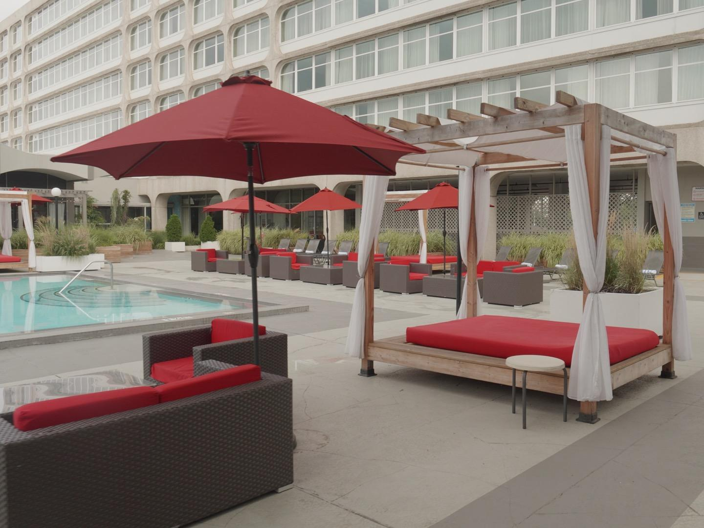 Photo #5 Pool Deck at Capitol Skyline Hotel