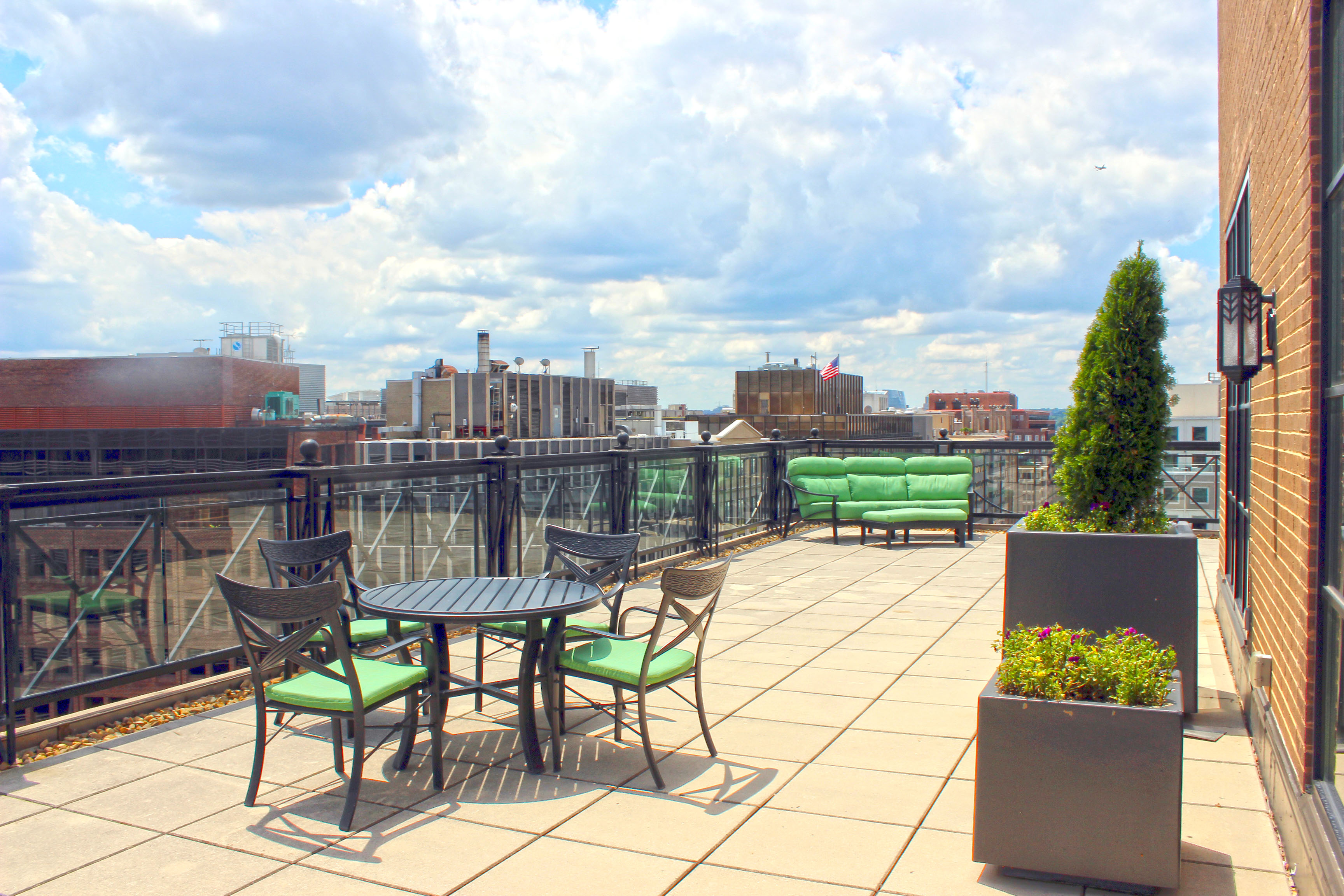Rooftop event space at Blackfinn Ameripub DC in Washington DC, Maryland, Virginia, DC Area
