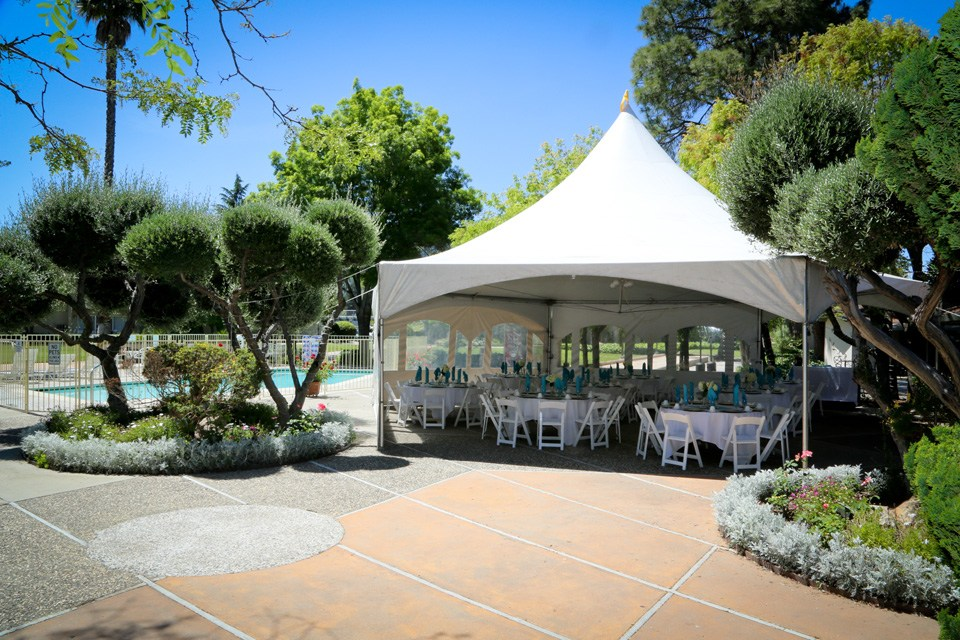 Photo #6 Poolside Patio at Los Gatos Lodge