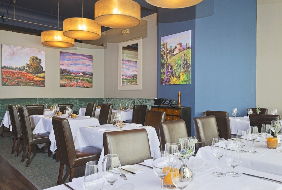 Liguria Room event space at Due Mari in New York City, NYC, NY/NJ Area