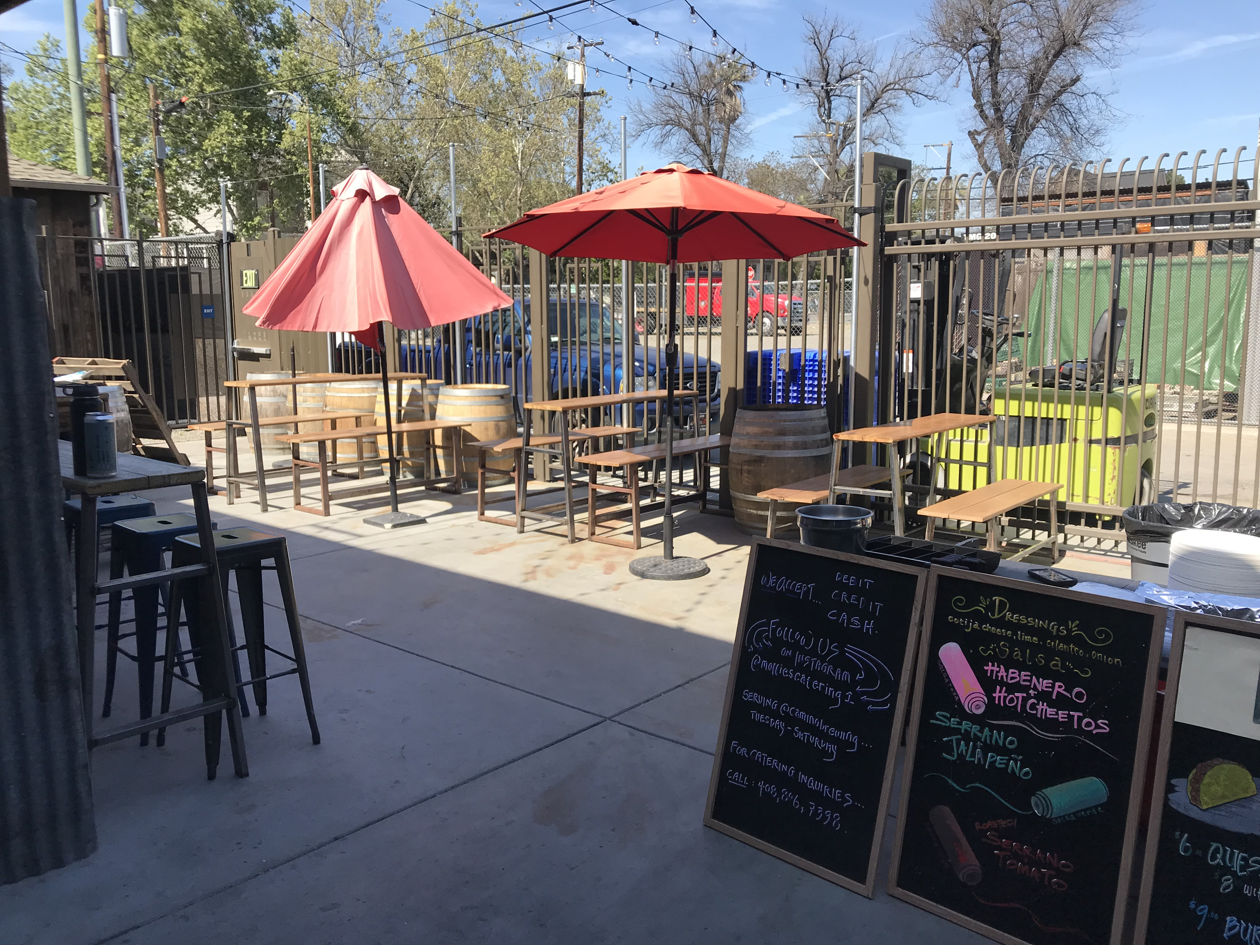 Photo #9 Indoor/Outdoor Patio Space at Camino Brewing Co.