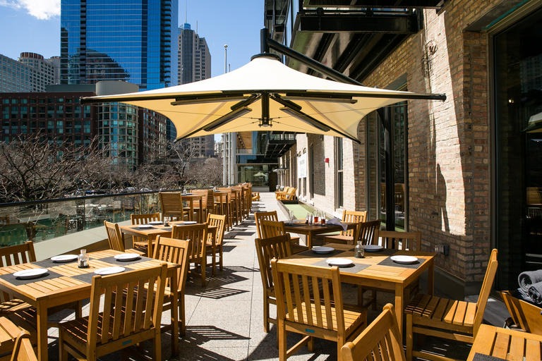 Photo #6 Outdoor Balcony Patio East & West at Pinstripes - Chicago