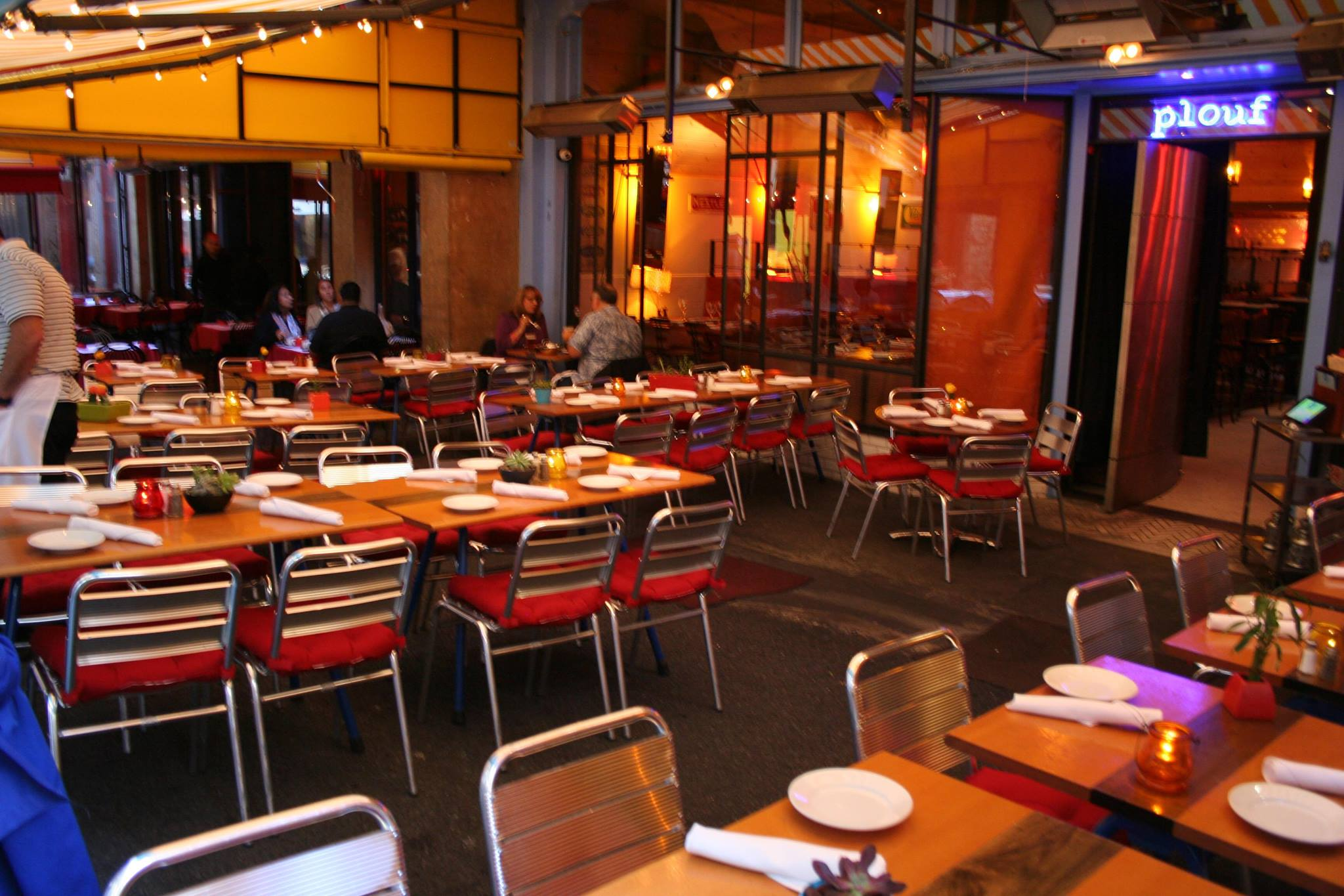 Photo #2 Outdoor Patio at Plouf